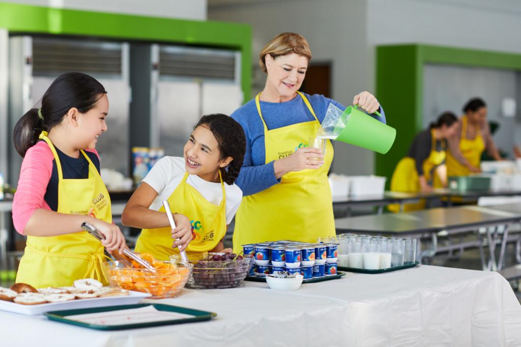 Multi-Prêts, fier allié du Club des petits déjeuners - Campagne de la rentrée scolaire